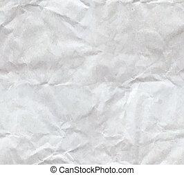 crumpled paper sheet seamless