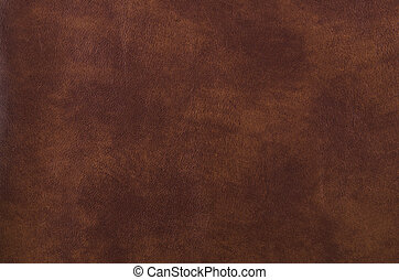 Texture of dark brown leather for decorative background.