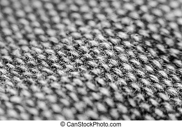 Texture of fabric close up