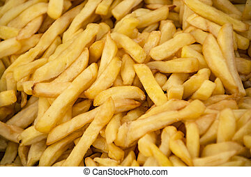 Texture of French fries