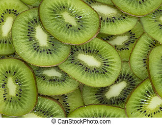 Texture of fruit kiwi.