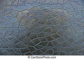 texture of glass with a pattern of gray color