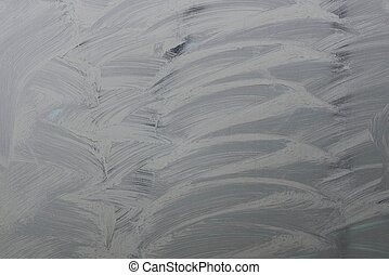 texture of gray iron wall with white paint