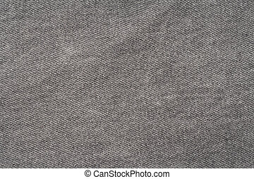 Texture of gray jeans.