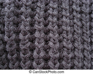Texture of gray sweater
