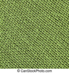 texture of green fabric