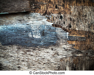 Texture of grunge old wood