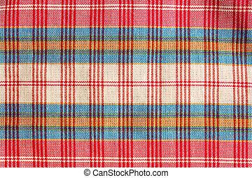 Texture of handmade Thai style cloth, Thailand. - Texture of...