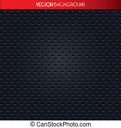 black and gray pattern - Texture of holes, black and gray...