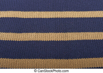 Texture of knitted wool