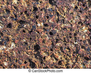 Texture of Laterite