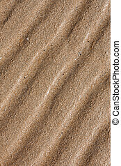 line patterns in sand