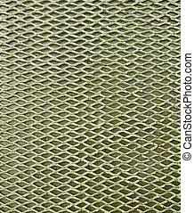 Texture of metal mesh