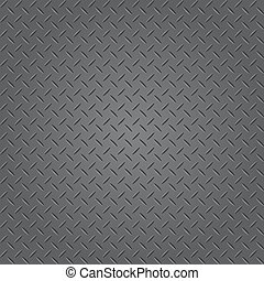 Texture of metal plate (Vector)