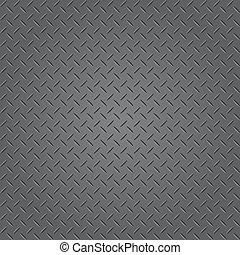 Texture of metal plate (Vector)