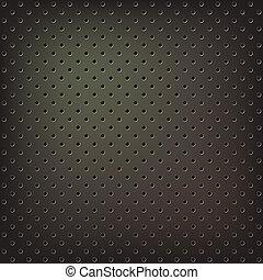 Texture of metallic mesh - Texture of dark metallic mesh