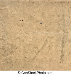 texture of old beige leather close up