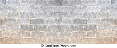 Texture of old block wall for background