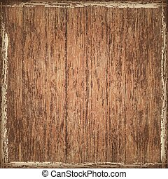 Texture of old boards with stains from paint. Shabby wooden background. Vector .Eps10.