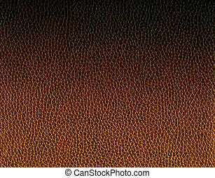 texture of old brown leather