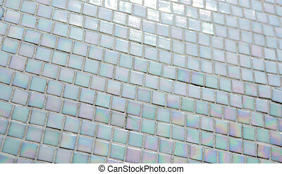 Texture of old ceramic mosaic