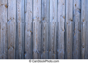 Texture of old gray fence
