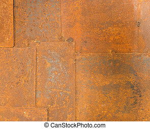 Texture of old grunge iron table background