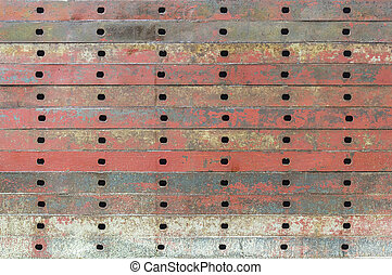Texture of old iron plate