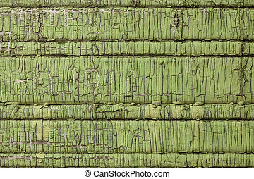 texture of old paint on a wooden board