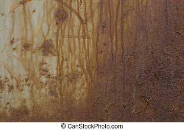 Texture of old rusty surface wall - Texture of old aged...