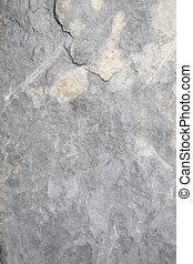 Texture of old stone walkway in garden.