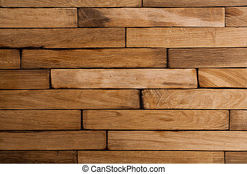 Texture of old wooden planks.