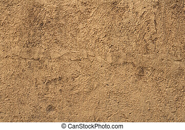 Texture of old yellow stucco wall