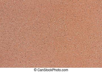 texture of orange ceramic wall