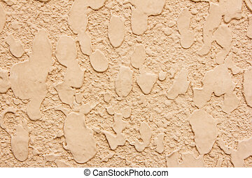 Texture of orange concrete wall