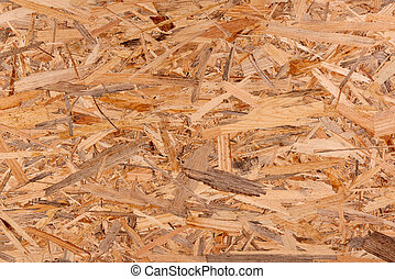 Texture of oriented strand board - OSB