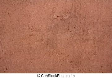 Texture of pink stucco wall