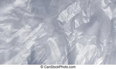 Texture of polyethylene or cellophane