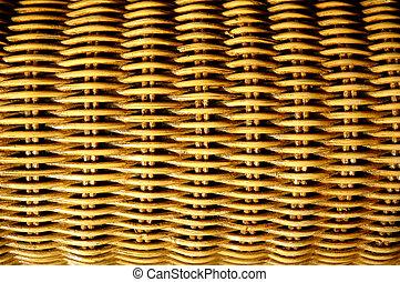 texture of rattan furniture