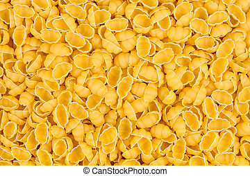 texture of raw gnocchi noodles pasta italian food macro background