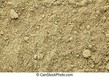 organic hemp protein powder - Texture of raw organic hemp...