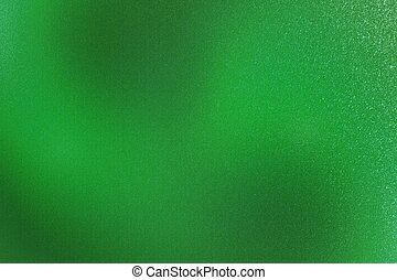 Texture of rough green metallic wall, abstract pattern background