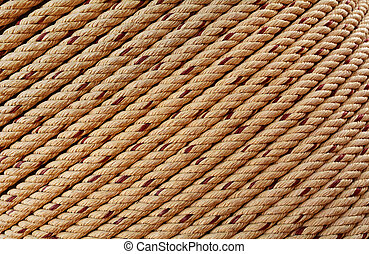 Texture of rough rope