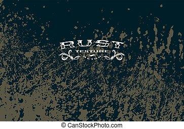 Texture of rust metal