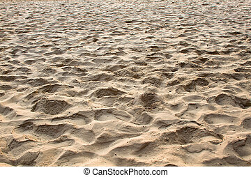 Texture of Sand beach Perspective