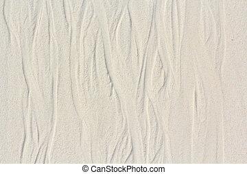 texture of sand on the beach thailand