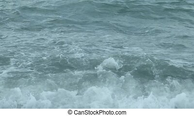 Texture of sea water
