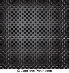 Texture of square metalic mesh