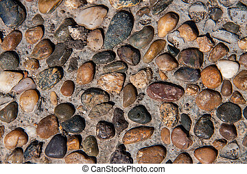Texture of stone as background close up