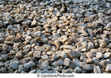 Texture of stone rubble
